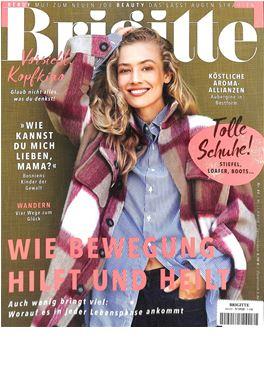 Brigitte Geschenkabo abonnement magazin frauenzeitschrift