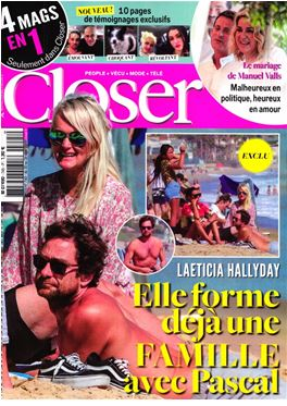 Abonnement Closer (FR) magazine
