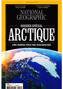 Abonnement National Geographic (F) magazine