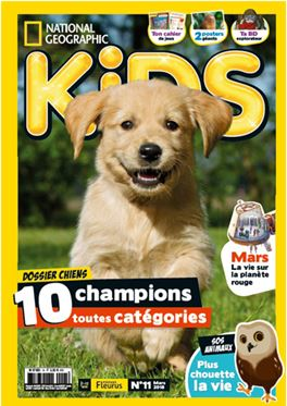 Abonnement National Geographic Kids magazine